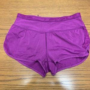 Lululemon Workout Shorts with Lining